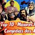 Top 10 - Maiores Filmes de Comédias dos Anos 70
