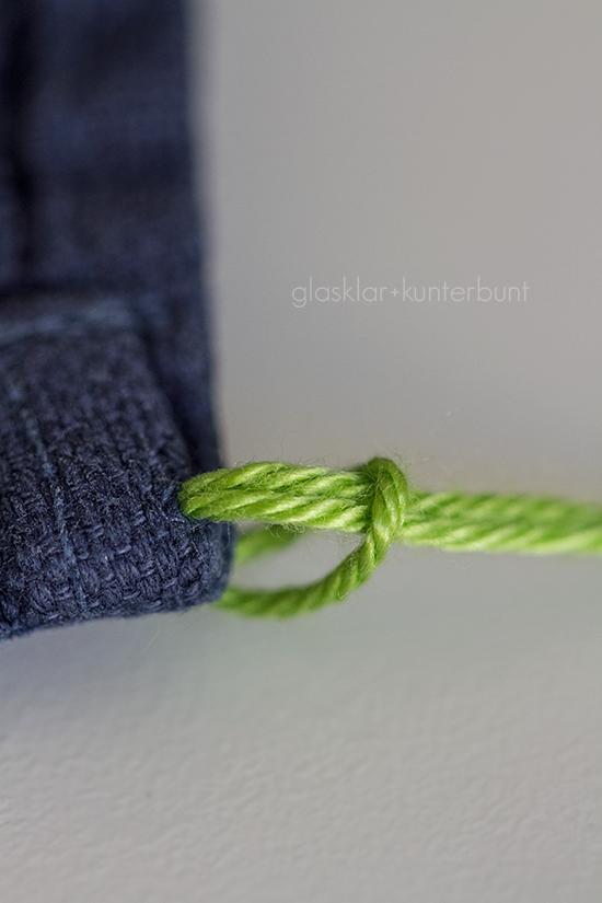 aufhänger für handtücher zum annähen