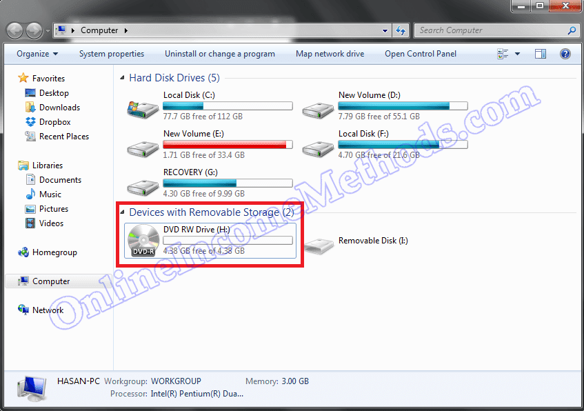 TSSTCorp DVD+-RW TS-L633B Drivers Firmware Fix Windows 7 / 8