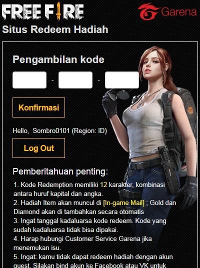 Situs Redeem Free Fire : situs, redeem, Mendapatkan, Redeem, Terbaru, Denpono