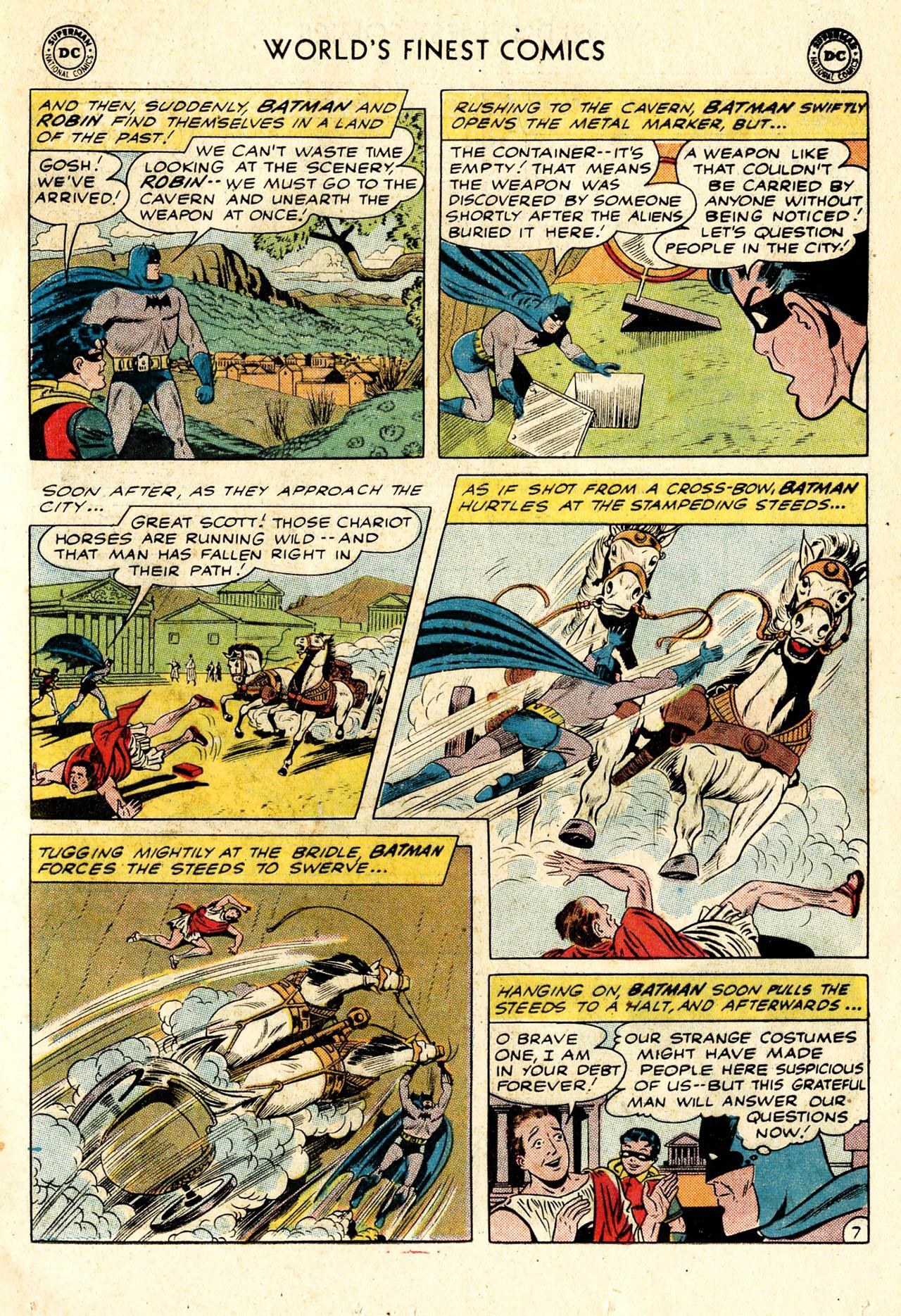 Read online World's Finest Comics comic -  Issue #107 - 9