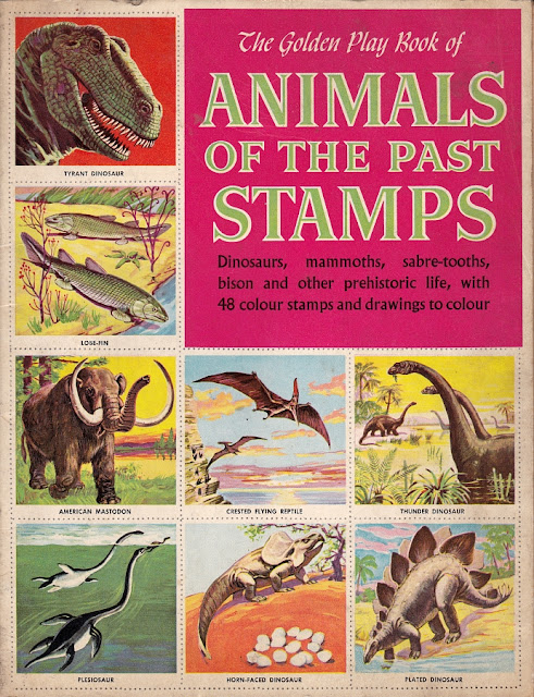 Love in the time of chasmosaurs vintage dinosaur art Why do we put stamps on letters