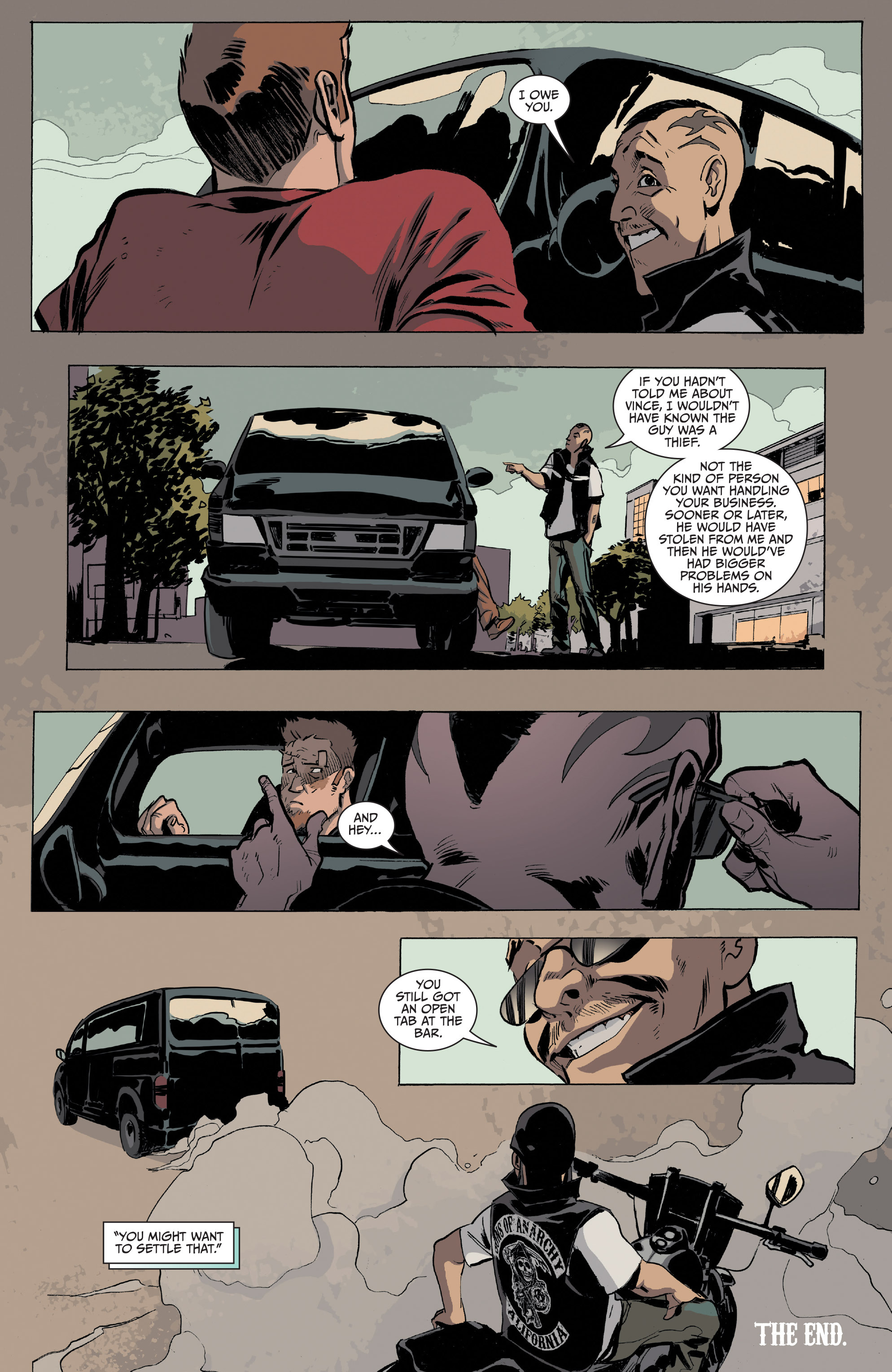 Read online Sons of Anarchy comic -  Issue #16 - 23