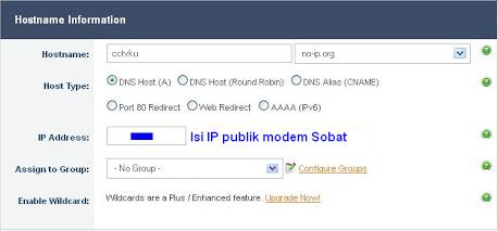 Merubah Ip Publik Modem Tp Link Menggunakan No Ip Com Kangbedol