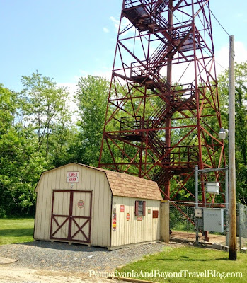 Duncannon Forest Fire Lookout Tower in Pennsylvania