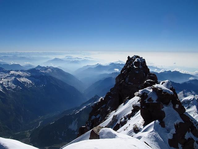 Szczyt Dufourspitze