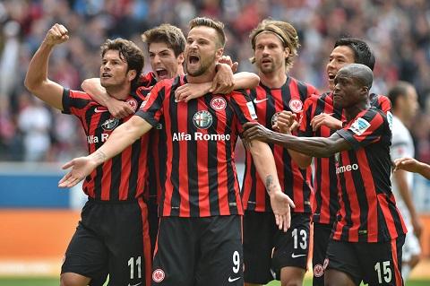 Eintracht Frankfurt không có nhiều thay đổi trong đội hình so với mùa trước