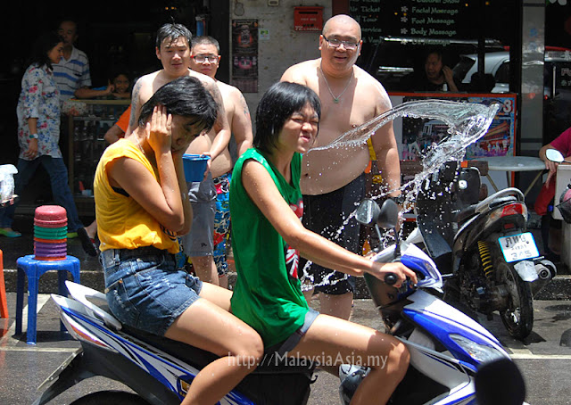Pictures of Songkran