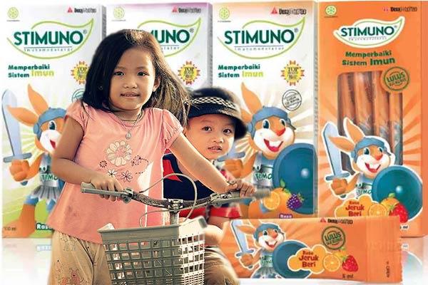 Stimuno Untuk Imun Anak Sekolah Dasar