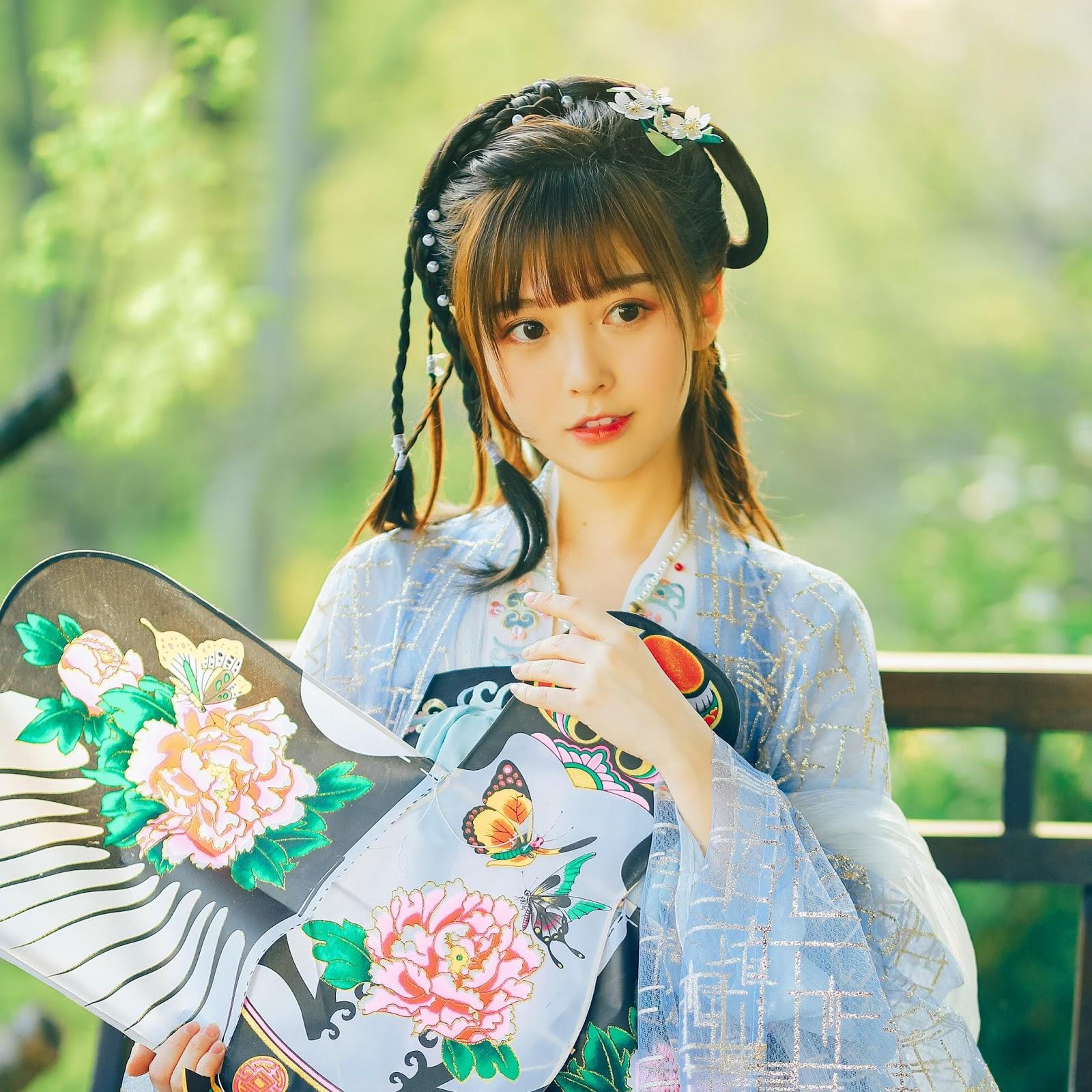 Bộ ảnh cổ trang tuyệt đẹp của hotgirl Zhong Manfei 钟曼菲