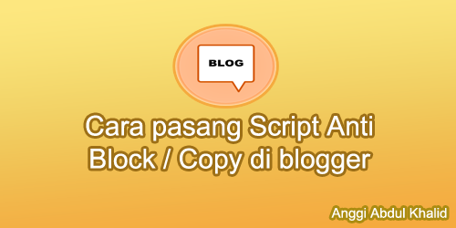 Script Anti Block / Copy di blogger