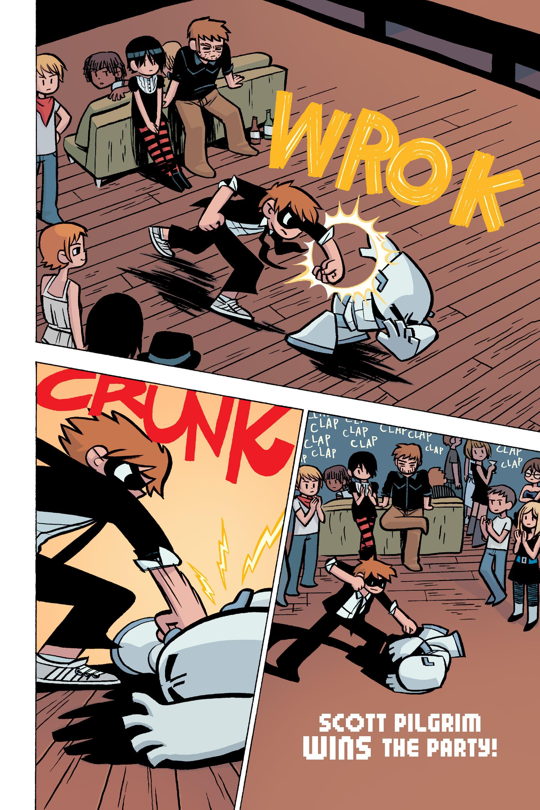Read online Scott Pilgrim comic -  Issue #5 - 23