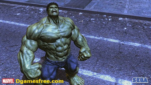 The Incredible Hulk PC Game