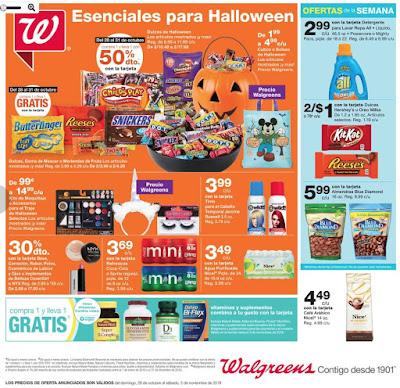 5f87d24c4 Especiales en las Farmacias Walgreens Puerto Rico válidos del 28 de octubre  al 3 de noviembre de 2018