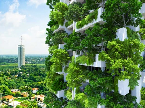 High-rise greenery refers to plants covering building exteriors. Islandwide, the target is to double this by 2030.