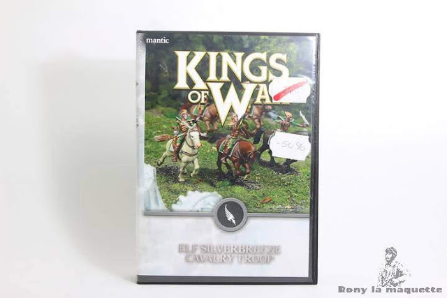 Cavalerie Elfique King of War 28 mm