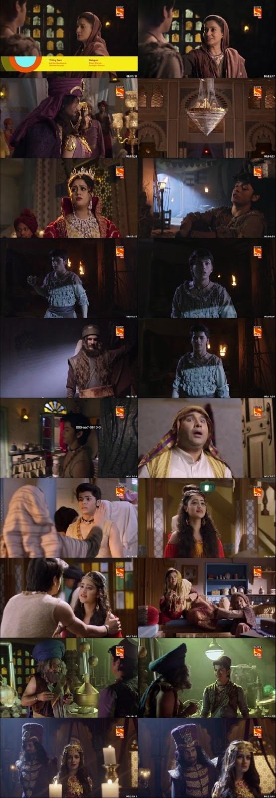 Screenshots Of Hindi Show Aladdin – Naam Toh Suna Hoga 2018 Episode 24 300MB 720P HD