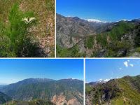 Переход с верхней Чайки в Оджук, ущелье Варзоб, горы Таджикистана