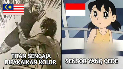Fans Anime Luar Mengatakan Tingkat Penyensoran Anime di Asia Tenggara Itu Parah