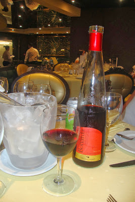 Bonarda, vinho da carta dos navios da MSC Cruzeiros