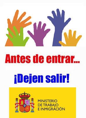 Antes de entrar, dejen salir | SpanishDict Answers
