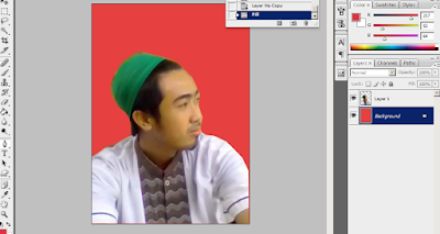 layer background dirubah warnanya
