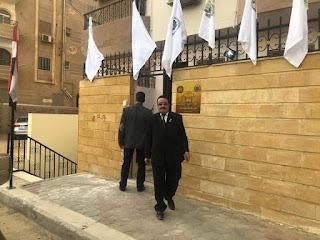 كلمة السفير الدكتور/ محمود هريدي من أمام مقر إتحادإجنيتا فريتاس بمصر والشرق الأوسط IVU.IGO كتب/ إسلام سالم
