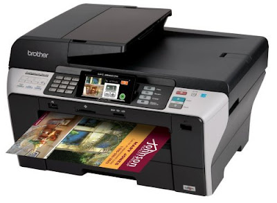 CDW Professional Series Color Inkjet All Brother Printer MFC-6890CDW Driver Downloads