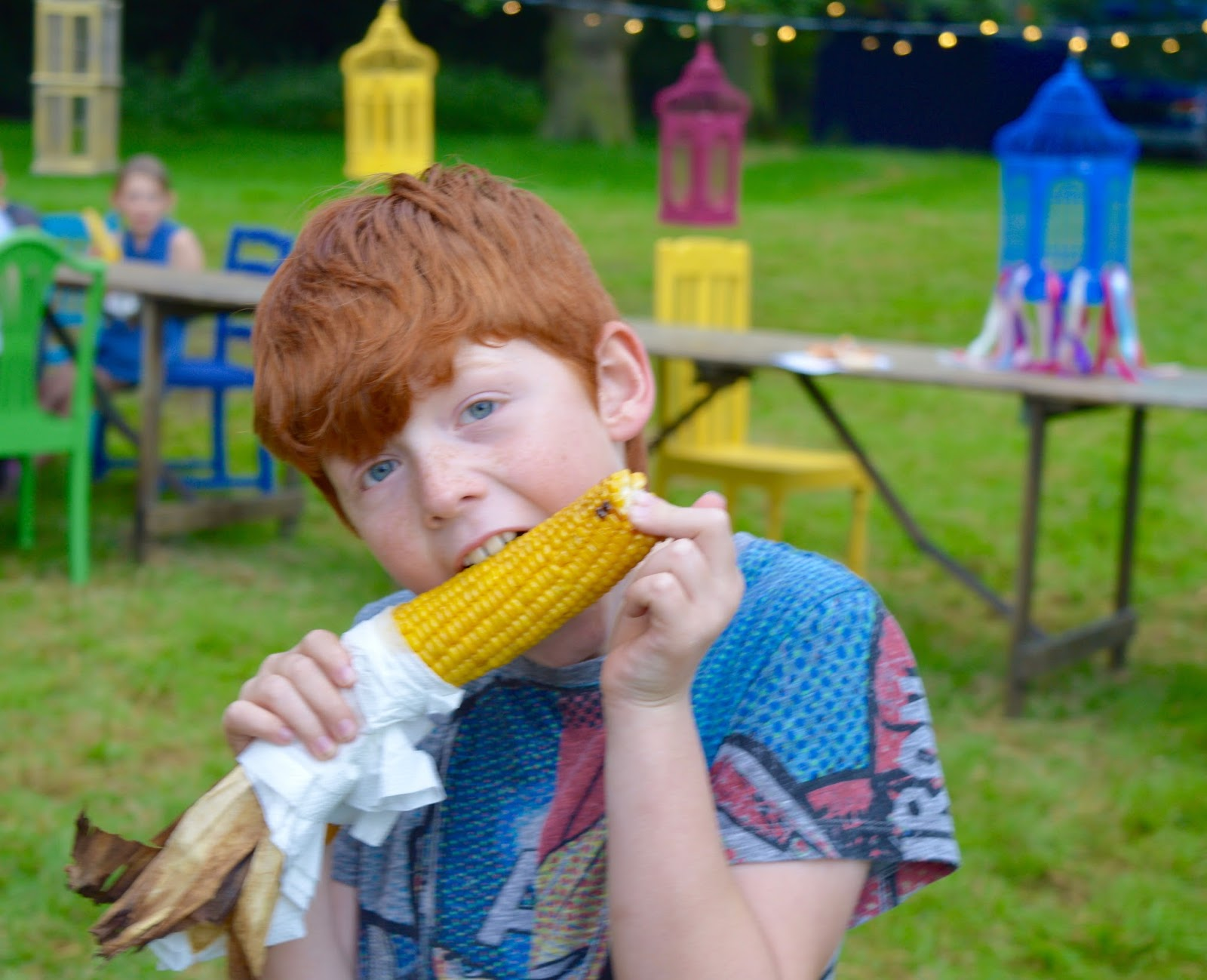 33 Reasons we LOVED the Just So Festival 2016 - corn on cobb