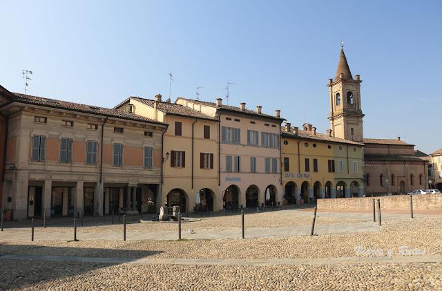 Iglesia de santa Croce, Fontanellato