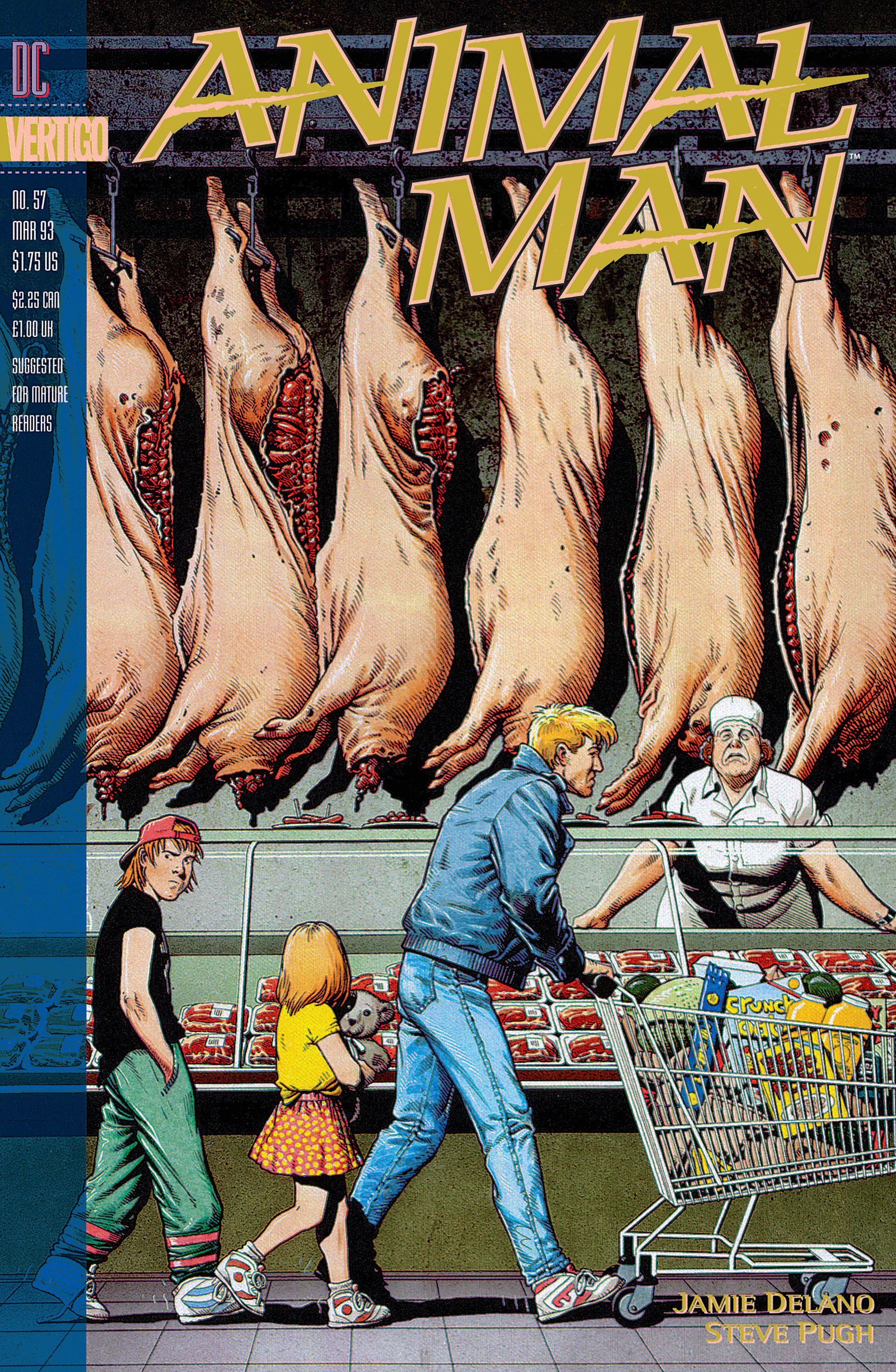 Animal Man issue 57 - Page 1