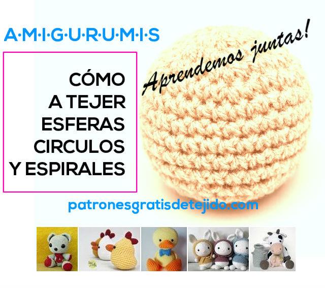 tutorial como tejer espirales esferas y circulos perfectos