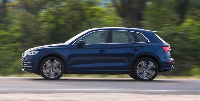 2017 Audi Q5 blue