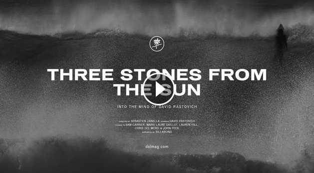 Three Stones From The Sun - Dave Rastovich