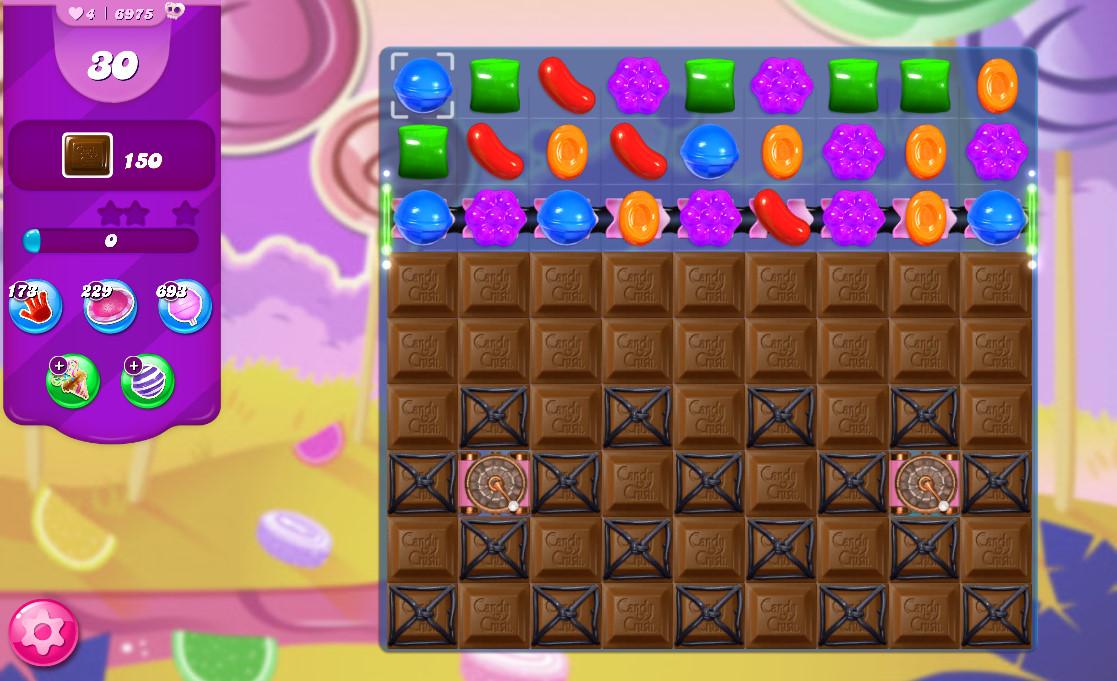 Candy Crush Saga level 6975