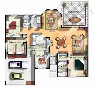 Floor Plan of a House Design
