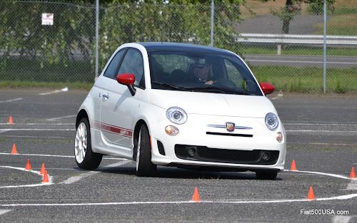 Fiat 500 Abarth Autocross