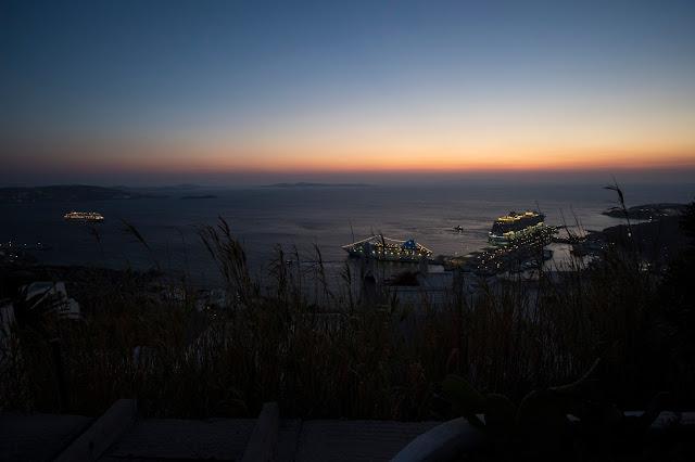 Tramonto-Mykonos