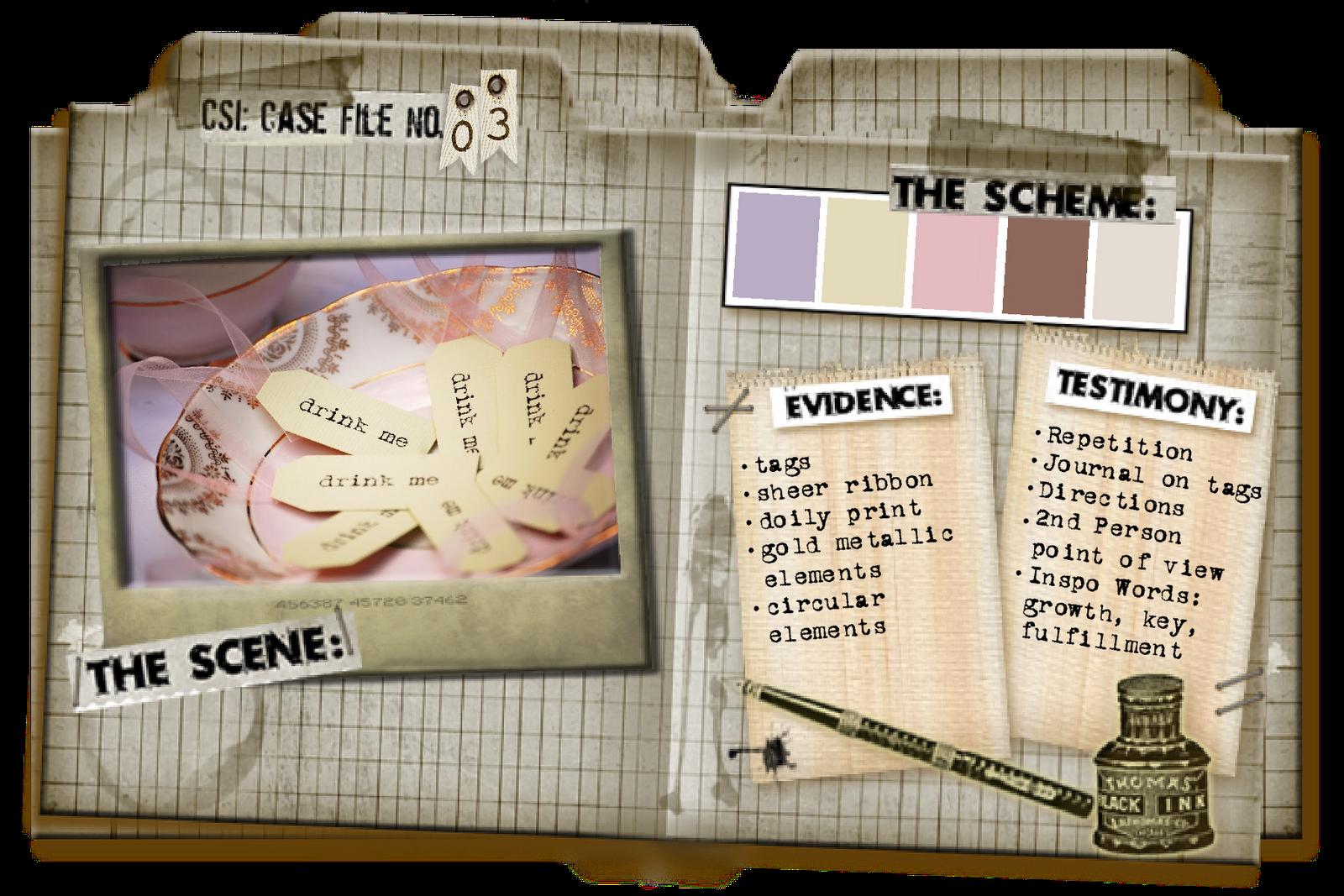 Little Scraps of Magic: Snap 101 - CSI Case File No. 3 Is ...