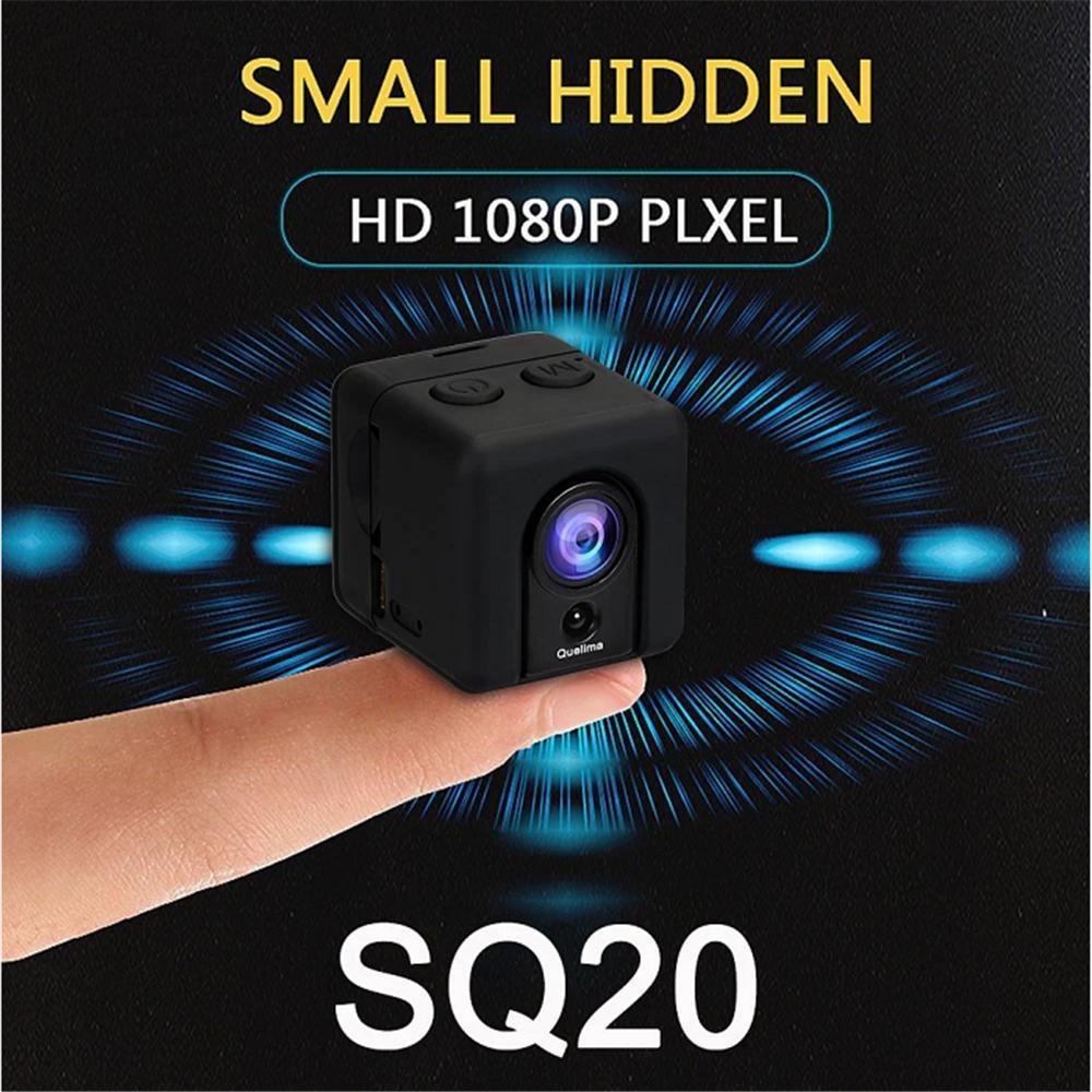 Quelima Sq20 Mini Camera Car Dvr Recorder 1080p Full Hd Sports Xiaomi Yi Smart Tachograph