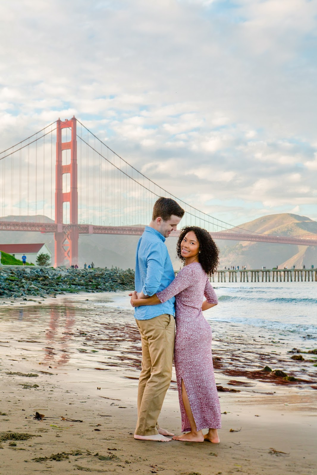 mountain view portrait photographers, san fransisco engagement photography, bay area engagement photography, golden gate bridge, east bay photographers, couples photographers in the bay, engagements, crissy fields, fremont ca photographers, san jose photographers