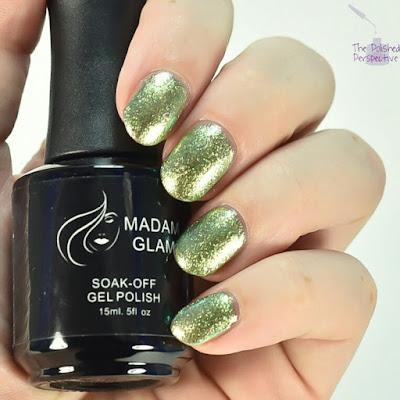 madam glam green verdict swatch