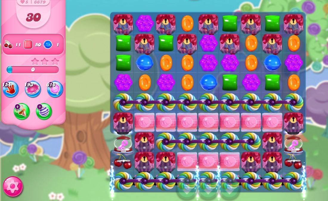 Candy Crush Saga level 6679