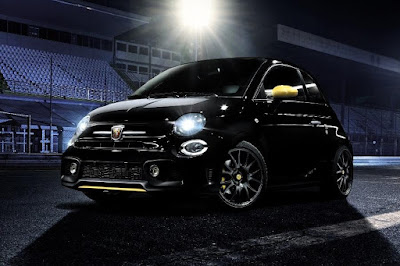 Abarth 595 Trofeo (2017) Front Side