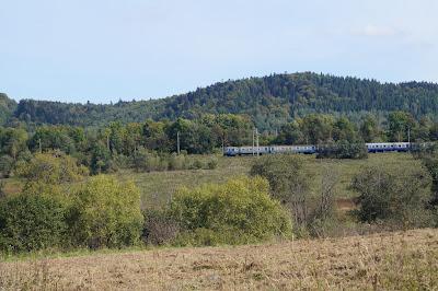 linia kolejowa przełęcz Użocka