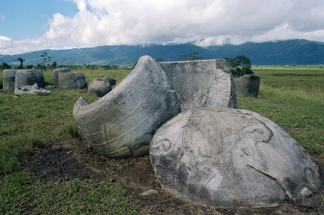basemah megaliths - south sumatera