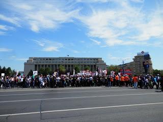 Manifestazione Bucarest