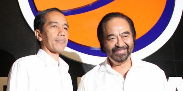 Kader NasDem Ingin Surya Paloh Jadi Cawapres Jokowi