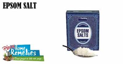 Home Remedies For Foot Tendonitis: Epsom Salt