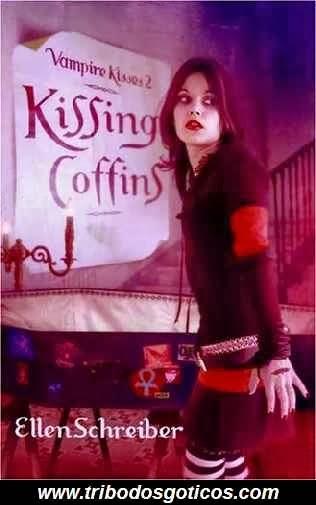 vampire kisses,livro